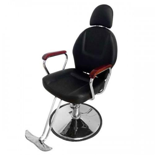 Професионален модел бръснарски стол с падаща облегалка 036А