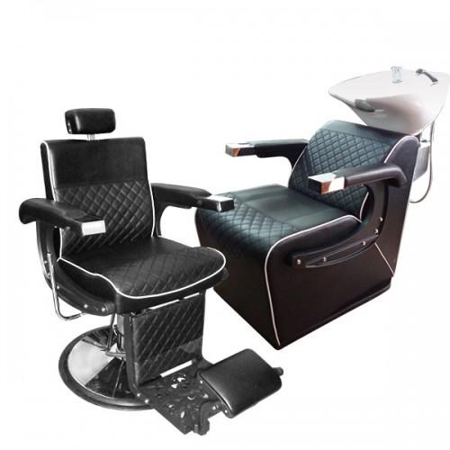 Стилен професионален бръснарски стол BO50