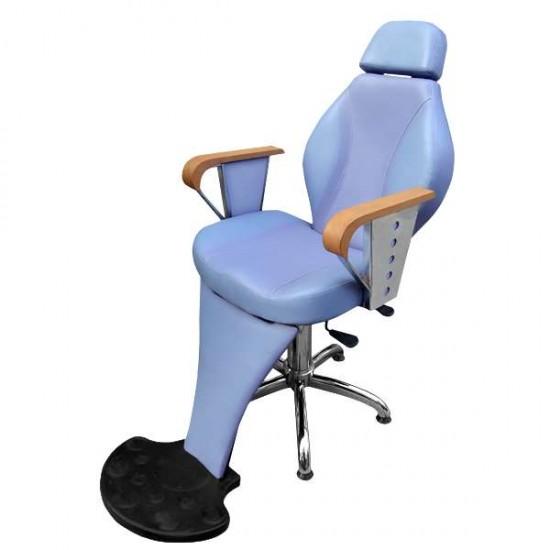 Бръснарски стол в атрактивен цвят - M052