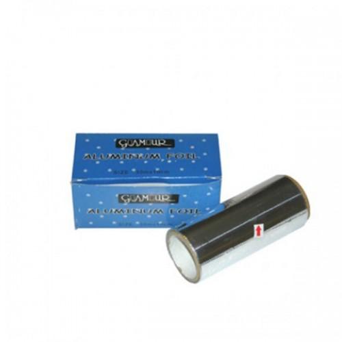 Фризьорско фолио за кичури, алуминиево, 30 м. - L-68