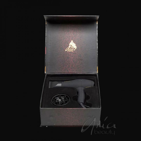 Черен мини сешоар с дифузер - ARIA Beauty - MINI BLOW DRYER