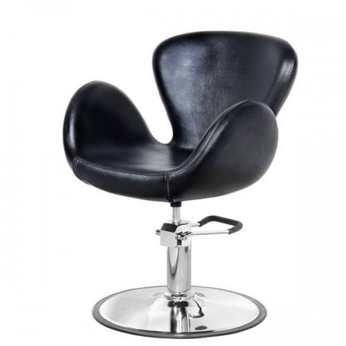Фризьорски стол с разчупен дизайн - PA3390BL