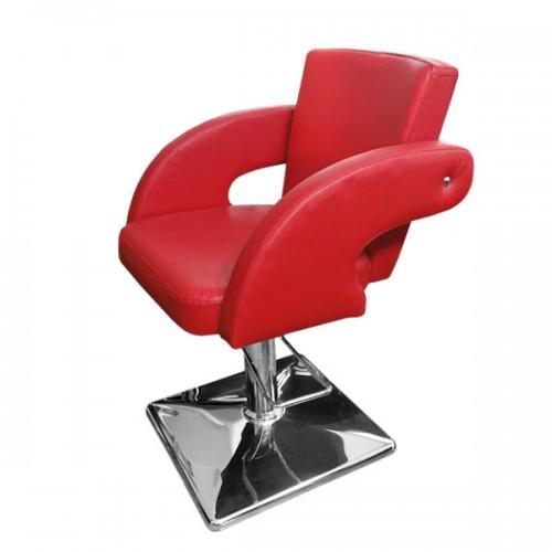 Стол за фризьорски салон в червено - модел М1001