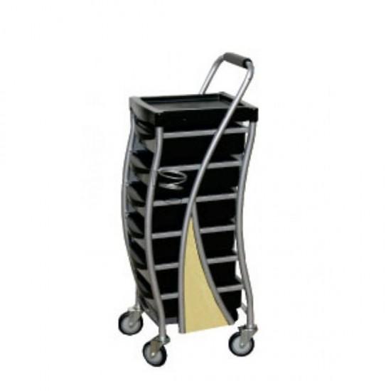Фризьорска количка с помощна дръжка - ST16