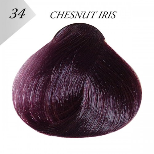 Боя за коса Londessa №34 - CHESTNUT IRIS