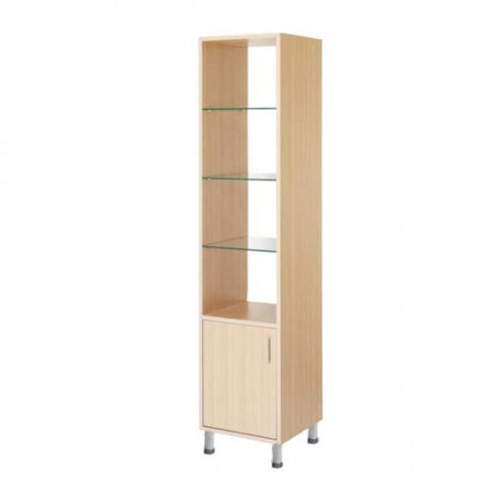 Етажерка с 3 рафта и шкаф - 1601