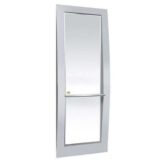 Фризьорско огледало, сребристо - 3665