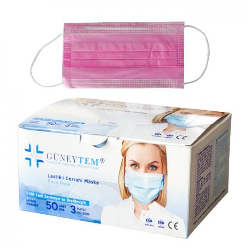 Медицински маски Güneytem за еднократно ползване - 50 бр