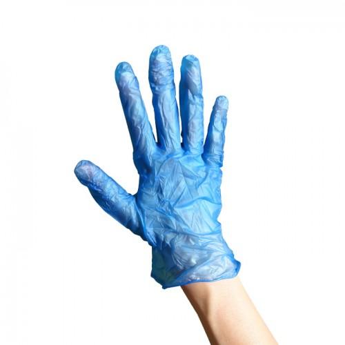Винилови ръкавици за еднократна употреба по 100 броя