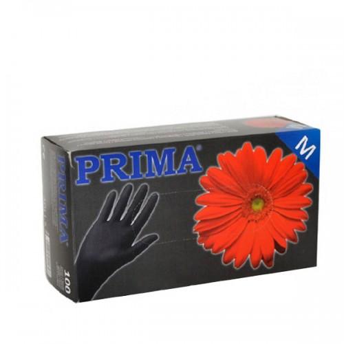 Черни ръкавици от нитрил за еднократно ползване – 100 броя в кутия