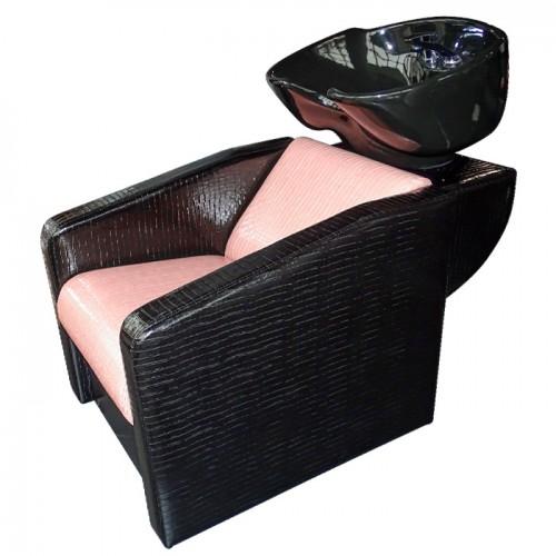 Фризьорски комплект в розово и черно Shine