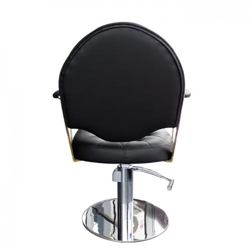 Луксозно оборудване за фризьорски салон пакетно предложение Royal Black измивна колона плюс фризьорски стол