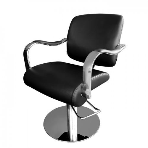 Черен фризьорски стол за подстригване модел 334