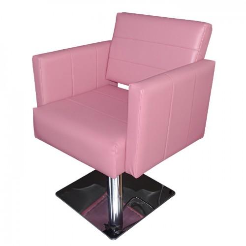 Елегантен фризьорски стол М788 - Розов