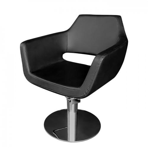Фризьоски стол 063 - черен