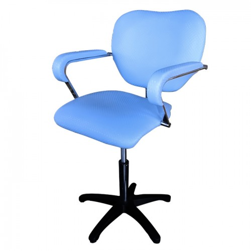 Фризьорски стол, светлосин - 303-02