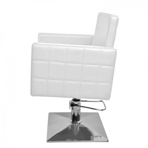Фризьорски стол PA08F0W в бяло