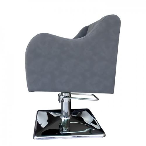 Професионален фризьорски стол в сив цвят модел А5000