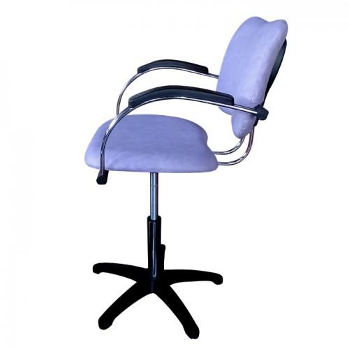 Фризьорски стол модел 333 в лилав цвят
