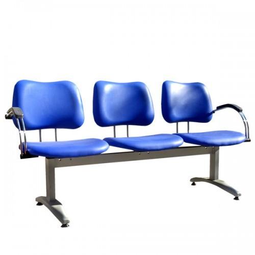Синя фризьорска чакалня модел D430