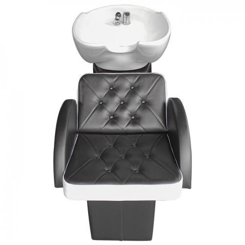 Качествена и елегантна измивна колона M24 - Черно-бяла