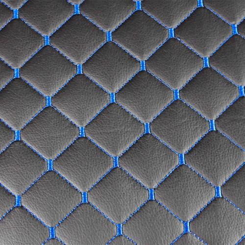 Измивна колона със стилен дизайн в черно M402 със сини шевове