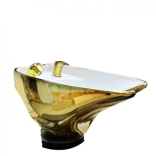 Измивна колона Модел N292 със златиста мивка