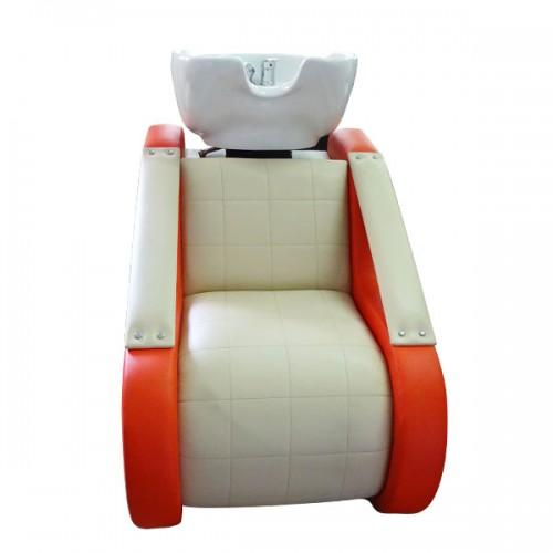 Фризьорска мивка М400-f от висококачествена еко кожа