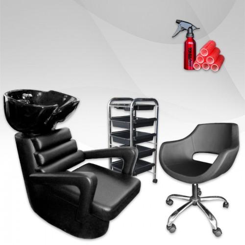 Комплект обзавеждане за фризьорски салон ECONOMY