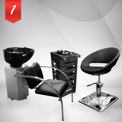 Комплект фризьорско оборудване в два варианта - Silver