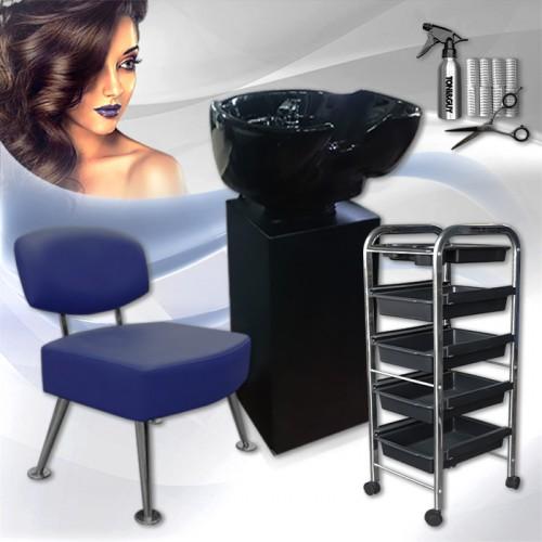 Комплект фризьорско оборудване BLUE