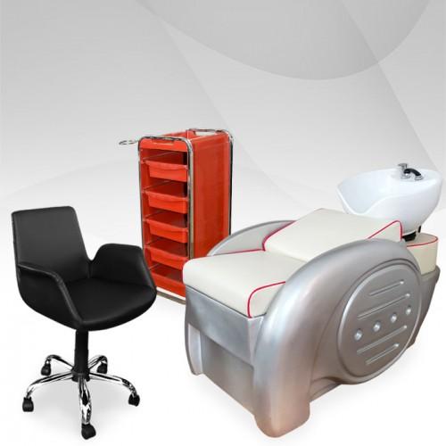 Промо комплект професионално фризьорско оборудване RED