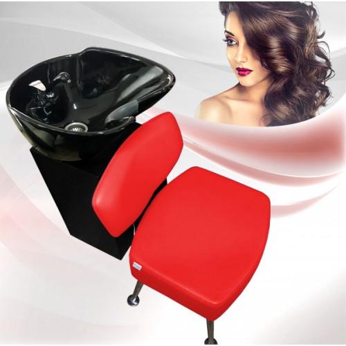 Комплект фризьорско оборудване от две части RED