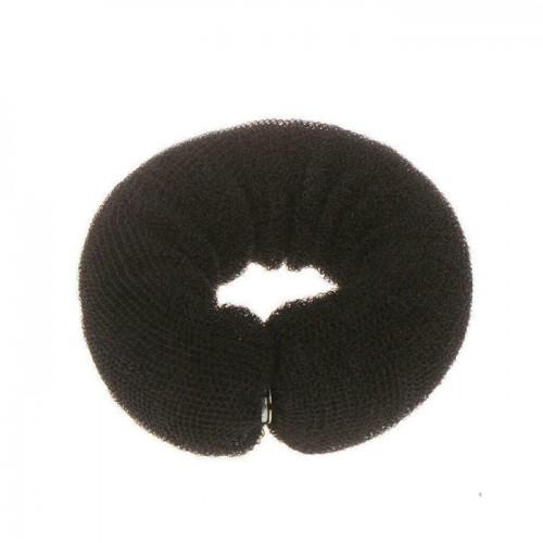 Подложка за кок - 25 см, черен цвят