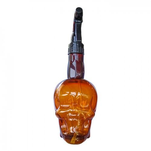 Спрей бутилка за многократно ползване Brown Skull